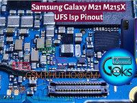 M21 UFS ISP Pinout